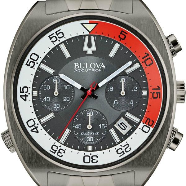 ブローバ bulova accutron ii snorkel men s watch 98b253 アキュトロン